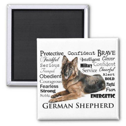 Shepherd Traits Magnet Refrigerator Magnets