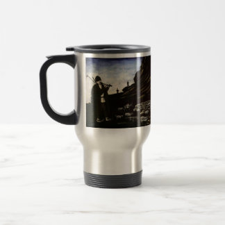 Shepherd with Flock by Niko Pirosmani Coffee Mugs