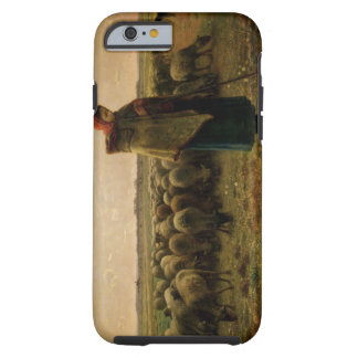Shepherdess with her Flock, 1863 Tough iPhone 6 Case