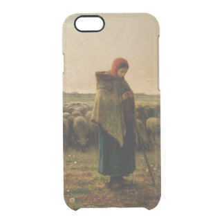 Shepherdess with her Flock, 1863 Clear iPhone 6/6S Case