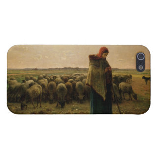 Shepherdess with her Flock, 1863 Cover For iPhone 5/5S