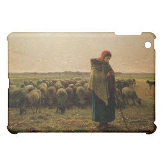 Shepherdess with her Flock, 1863 iPad Mini Cases