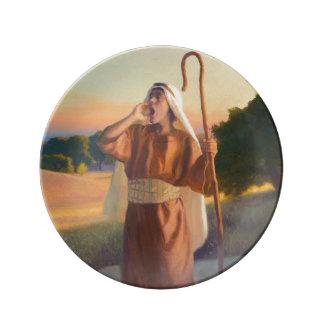 Shepherd's Call Porcelain Plate