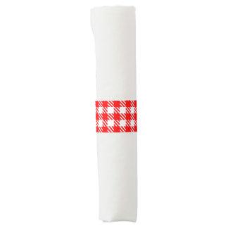 Shepherd's Check, stripe, Customise, Change colour Napkin Band