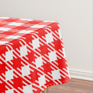 Shepherd's Check, stripe, Customise, Change colour Tablecloth