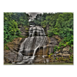 Shequaga Falls, Montour Falls, New York Poster