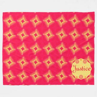 Sherbert Flowers Customize name Blanket