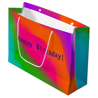 Sherbet Colors Large Gift Bag