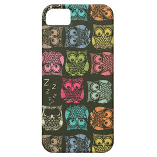 sherbet owls iPhone 5 cases