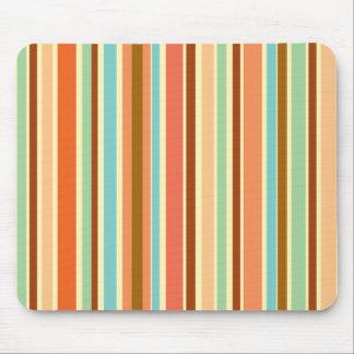 Sherbet Stripes Designer Mousepad