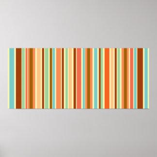 Sherbet Stripes Designer Print