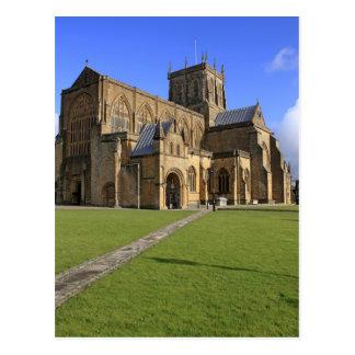 Sherborne Abbey Dorset Postcard