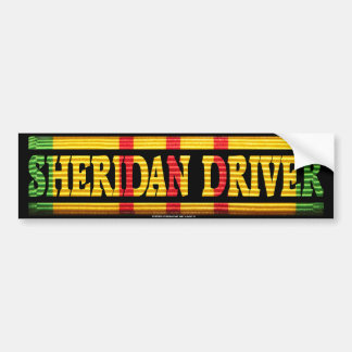 Sheridan Driver Vietnam Service Bumper Stickers