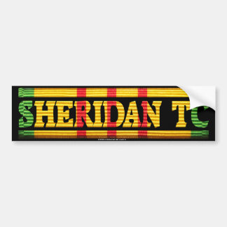 Sheridan TC Vietnam Service Bumper Sticker