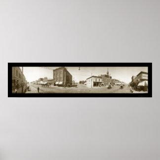 Sheridan Wyoming Photo 1909 Poster