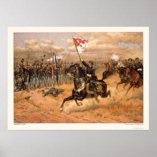 Sheridan's Ride by L. Prang & Company 1886 Poster