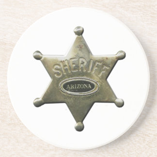 Sheriff Arizona Coaster