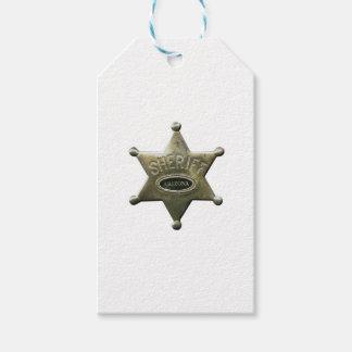 Sheriff Arizona Gift Tags