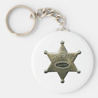 Sheriff Arizona Key Ring