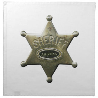 Sheriff Arizona Napkin