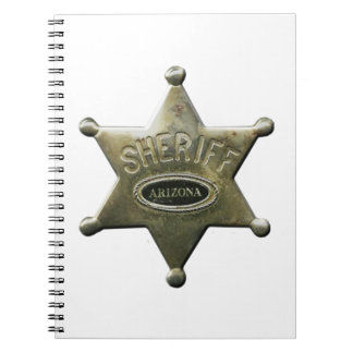 Sheriff Arizona Notebooks