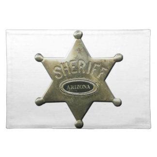 Sheriff Arizona Placemat