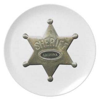 Sheriff Arizona Plate