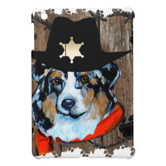 SHERIFF AUSTRALIAN SHEPHERD COVER FOR THE iPad MINI