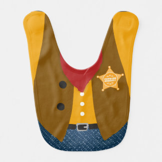 Sheriff Baby Bib