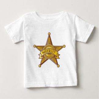 Sheriff Badge Baby T-Shirt