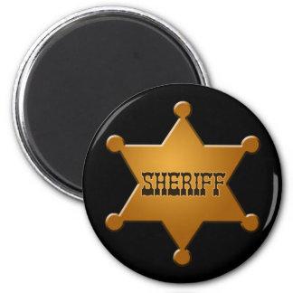 Sheriff Badge - magnet