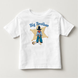 Sheriff Big Brother Toddler T-Shirt