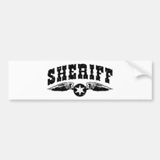 Sheriff Bumper Stickers