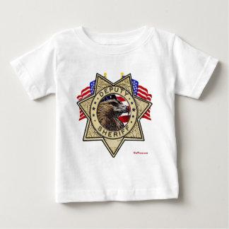 Sheriff Deputy Badge Baby T-Shirt
