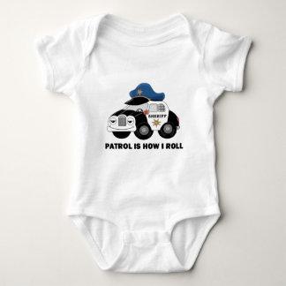 Sheriff Deputy On Patrol Baby Bodysuit