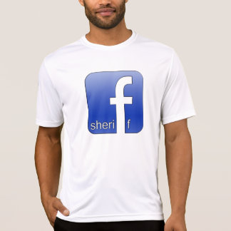 Sheriff Facebook Logo Unique Gift Popular Template T-Shirt