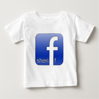Sheriff Facebook Logo Unique Gift Popular Template Tee Shirts