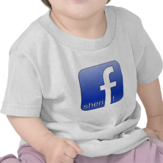 Sheriff Facebook Logo Unique Gift Popular Template Shirt