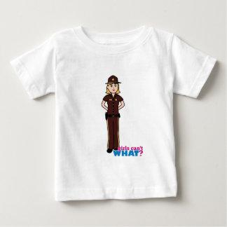 Sheriff Girl Baby T-Shirt