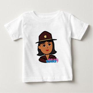 Sheriff Head - Dark Baby T-Shirt