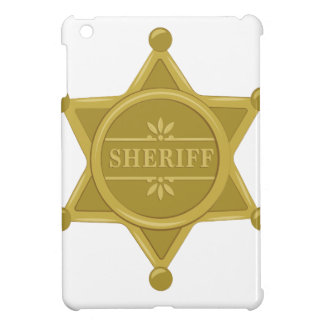 Sheriff iPad Mini Cases