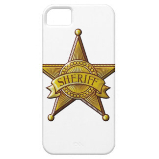 Sheriff iPhone 5 Cover