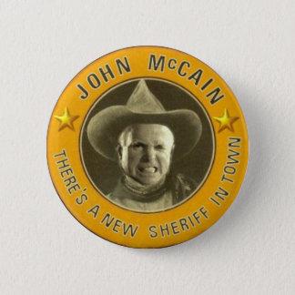 Sheriff McCain Button