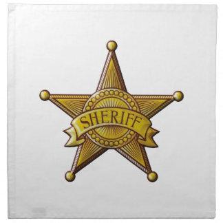 Sheriff Napkin