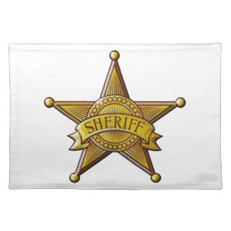 Sheriff Placemat