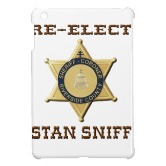 Sheriff Sniff iPad Mini Case