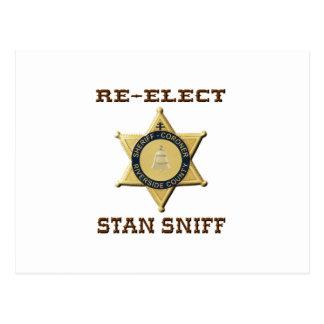 Sheriff Sniff Postcard