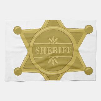 Sheriff Tea Towel