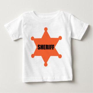 Sheriff's Badge Baby T-Shirt