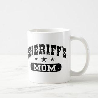 Sheriff's Mom Coffee Mug